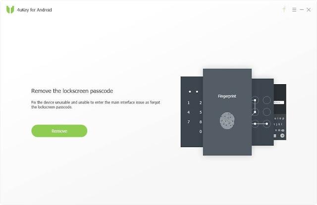 Tenorshare 4uKey Android imagenes
