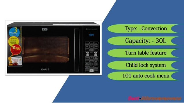 IFB 30BRC2, Black / best microwave oven