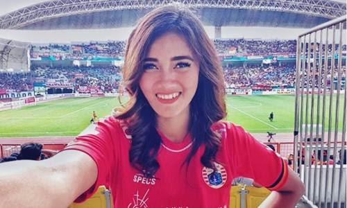 Bidoata Jessie Amalia Si The Jak Angel Cantik atau Model Persija Jakarta?