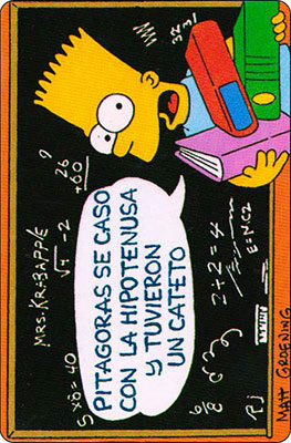Bollycao The Simpsons Cromo 44