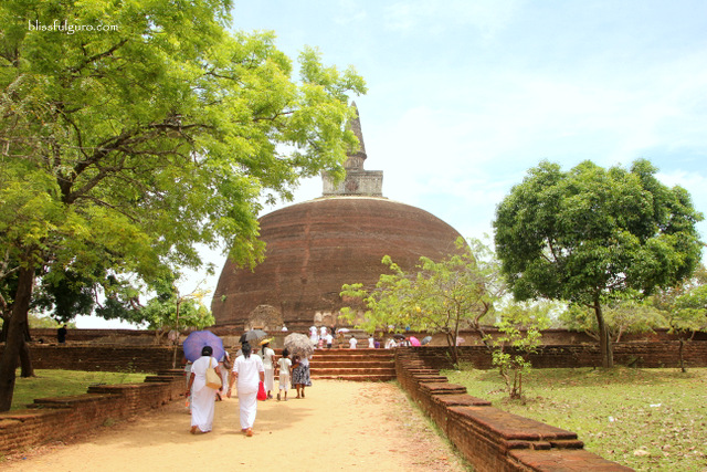 Ancient City Of Polonnaruwa Sri Lanka