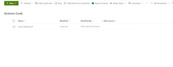 Create a Virtual Business Card Using PowerShell & Graph API (Part 2)