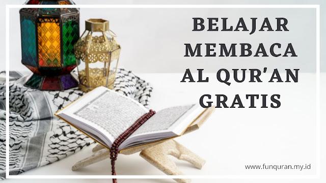 Belajar membaca al Qur'an Gratis