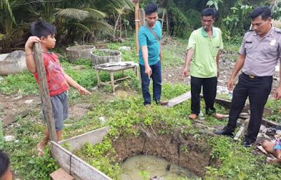 Luput Pengawasan Orang Tua, Balita di Aceh Timur Meninggal Didalam Sumur