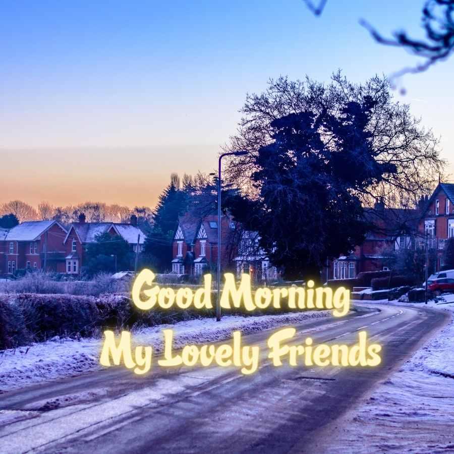 good morning my lovely friend
