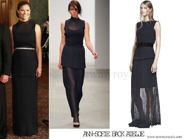Crown Princess Victoria wore Ann-Sofie Back S-S 2012