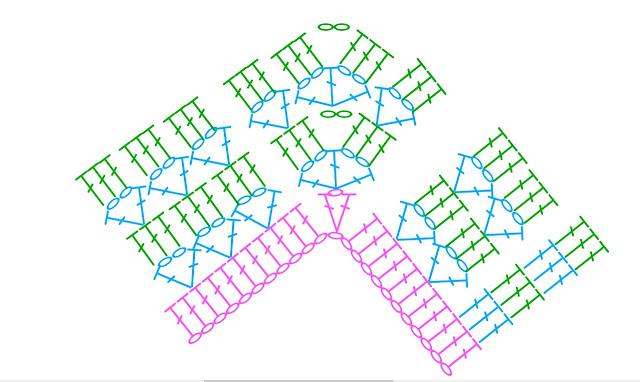 patron puntada crochet - Crochet Imagen Pantalones bombachos a crochet y ganchillo por Majovel Crochet