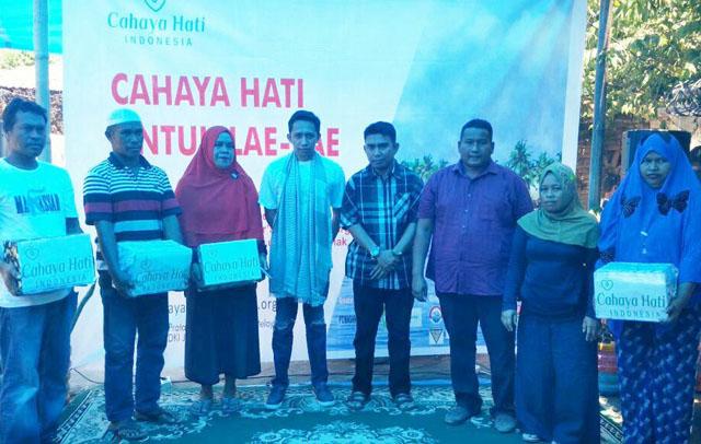 Yayasan Cahaya Hati Baksos di Pulau Lae-Lae
