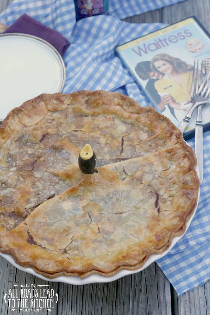 Borrow Your Man Beef and Beer Pie inspired by Waitress