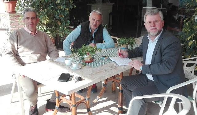 Συνάντηση Καραγιάννη με τον Σύλλογο Τουριστικών Καταλυμάτων και Δράσεων Εναλλακτικού Τουρισμού