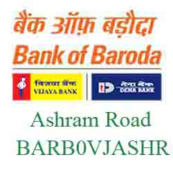 Vijaya Baroda Ashram Road Branch Ahmedabad New IFSC