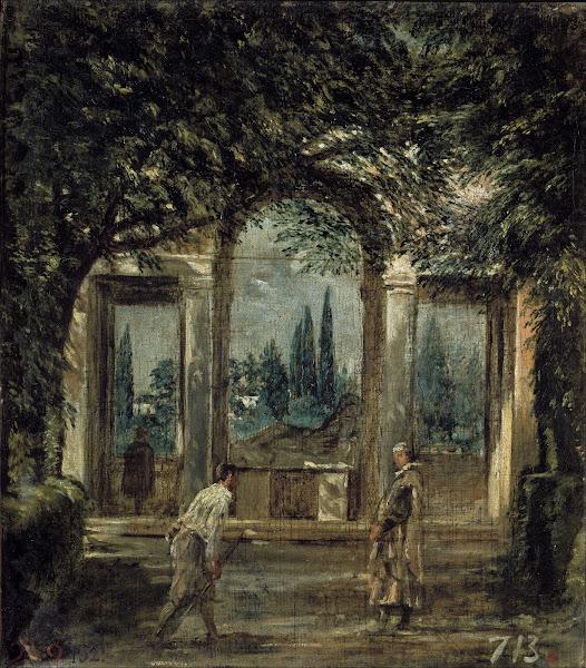 Диего Веласкес - Вилла Медичи в Риме, Павильон Ариадны (ок.1630)
