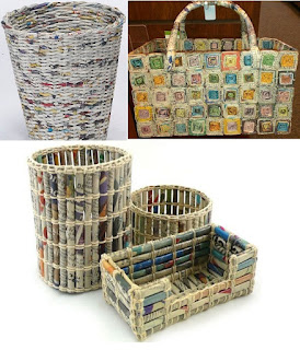 cara membuat kerajinan tangan dari koran bekas