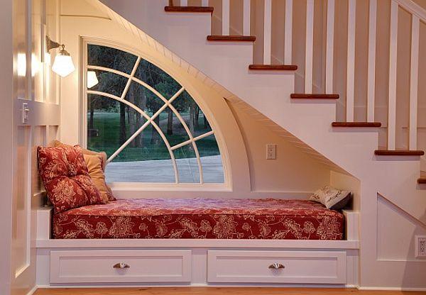 Dormitorios bajo la escalera dormitorios colores y estilos - Habitaciones con escaleras ...