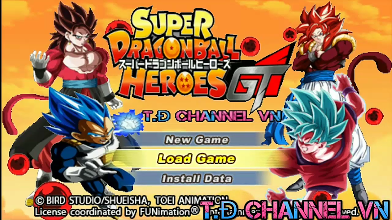Super Dragon Ball Heroes GT DBZ TTT MOD With Permanent Menu
