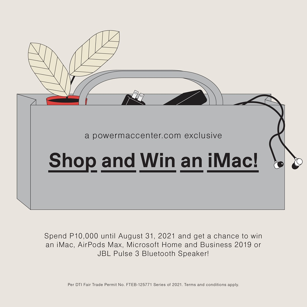 PMC 27th Anniversary Sale - Shop and Win an iMac