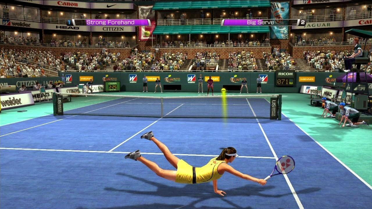 تحميل لعبة virtua tennis 2