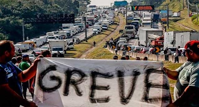 Nova greve dos caminhoneiros está marcada para o dia 1º de fevereiro