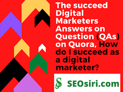How do I succeed as a digital marketer in my digital marketing career?