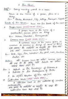 English grammar notes download