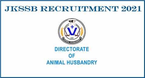 JKSSB Veterinary Pharmacist 10th Pass Job Opportunity
