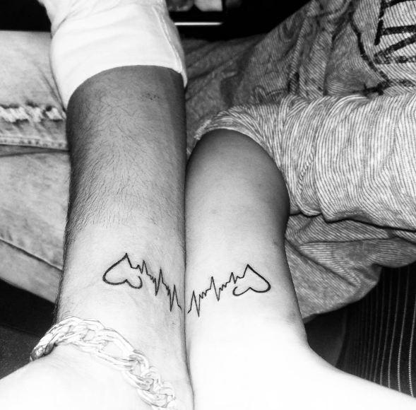 couple tattoos small