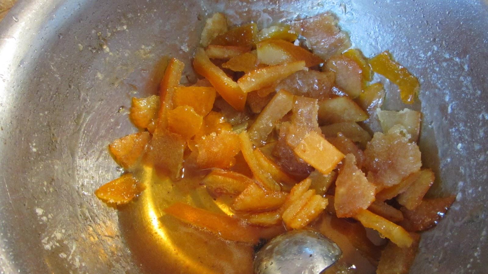 варим цукаты из апельсиновых корок