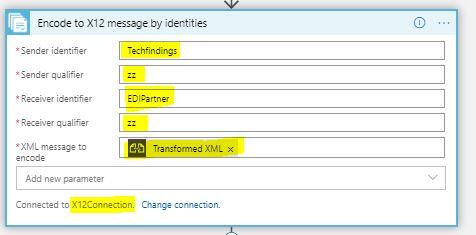 encode to x12