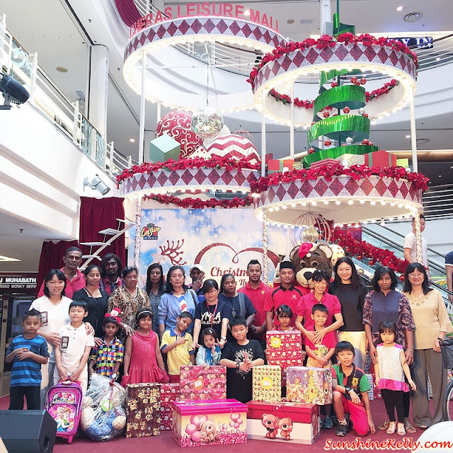 Dreams Come True, Underprivileged Children, Toy Bank, A Gift of Love, Cheras Leisure Mall, Christmas Charity
