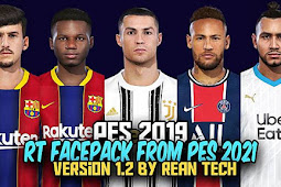 RT Facepack From PES 2021 V1.2 For - PES 2019 & PES 2018