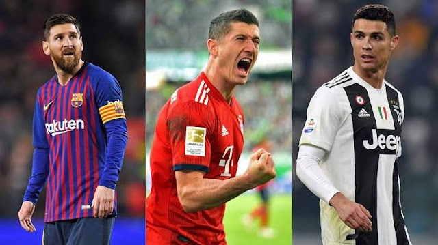 Lewandowski Outscored Cr7 and Messi to Become this Year's FIFA's Best Player