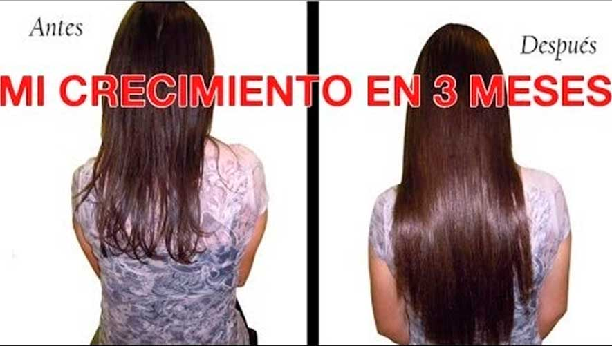 Crecimiento rapido del cabello en mujeres