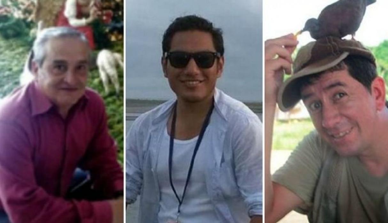 El equipo de El Comercio de Ecuador fue ejecutado con disparos en la cabeza / FOTO DIFUSIÓN