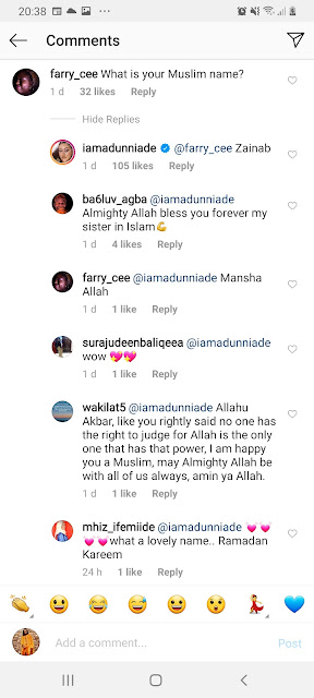 actress adunni ade is a muslim
