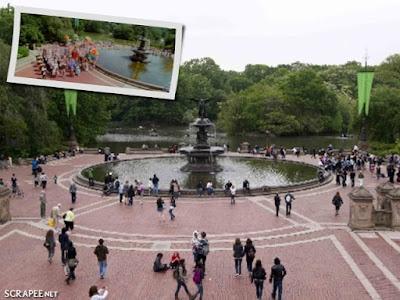 Encantada no Central Park