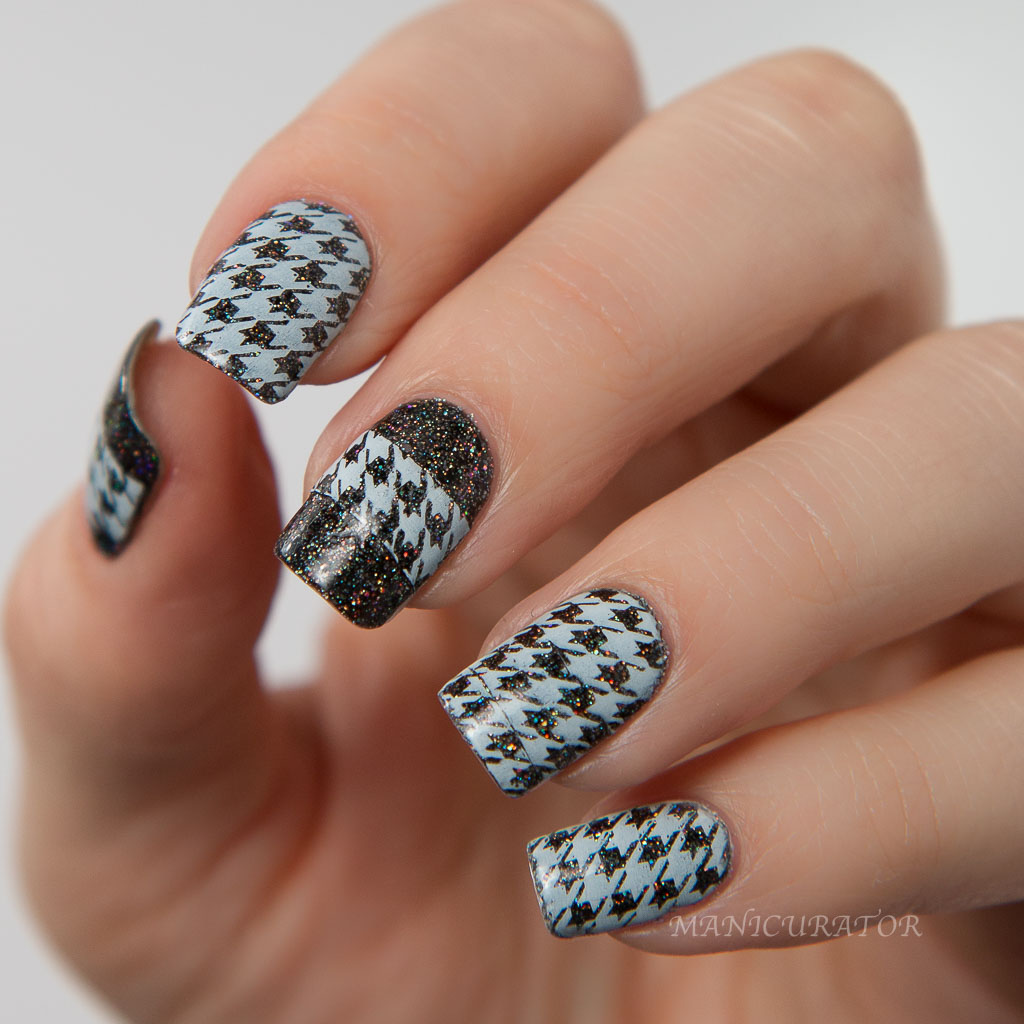 KBShimmer Mega Flame Spring 2016 Collection Houndstooth Watermarble ...