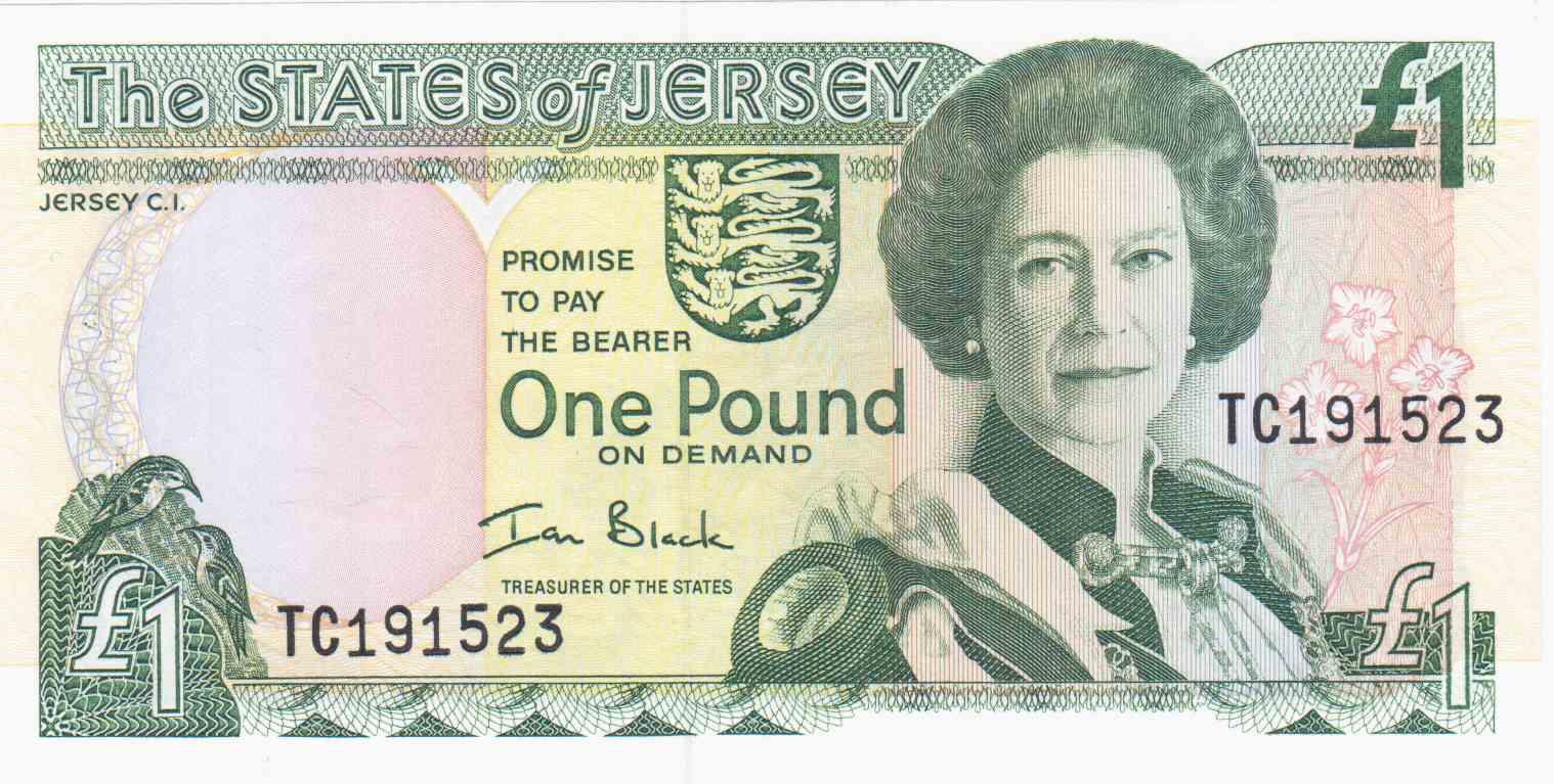 New Old Jersey Pound
