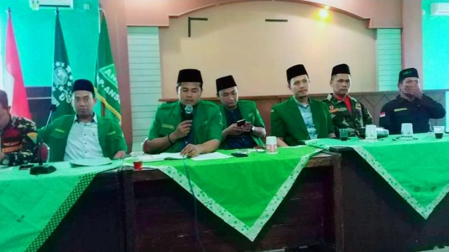 Penusukan Wiranto, GP Ansor Brebes Serukan Perang Terhadap Radikalisme