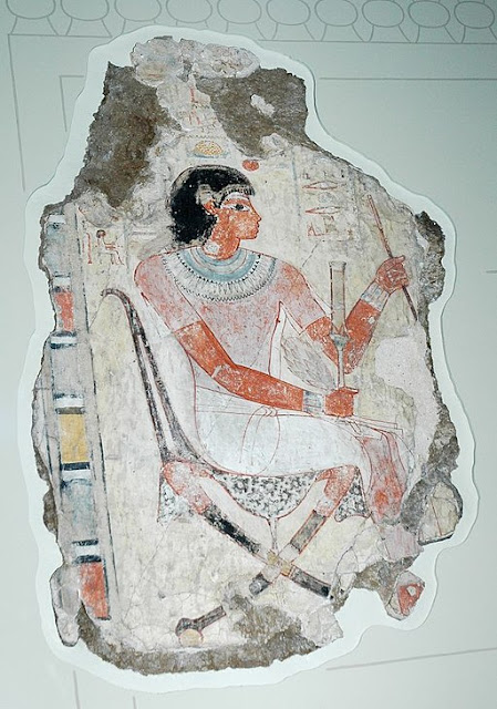 Painting from the lost tomb-chapel of Nebamun
