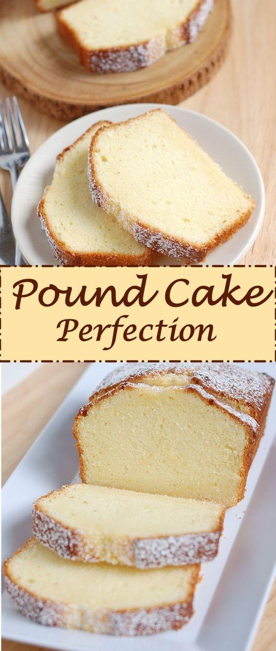 Pound Cake Perfection