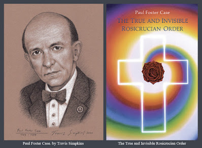 Paul Foster Case. Builders of the Adytum. B.O.T.A. The True and Invisible Rosicrucian Order. by Travis Simpkins
