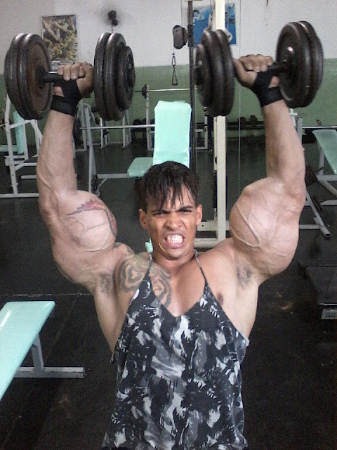 SYNTHOL MAN Romario Dos Santos Alves.  STRENGTHFIGHTER.COM