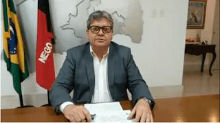 João anuncia que vai prorrogar decreto que determina o fechamento do comércio da PB