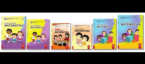 Buku Matematika Guru dan Siswa Kelas 4, 5, 6 Kurikulum 2013 Revisi Terbaru
