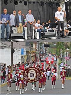 Desfile, inaugurações e shows marcam o aniversário de 81 anos de Miracatu