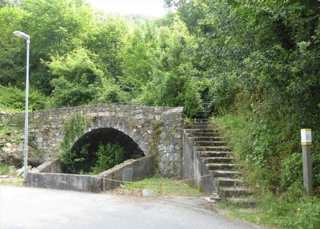 ponte a Cerisola di Zoagli
