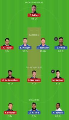 England tour of New Zealand 2019
