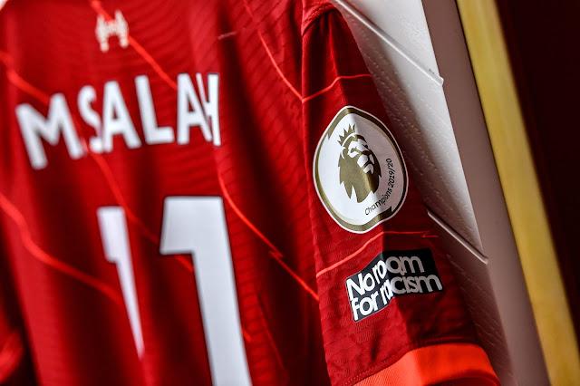 قميص محمد صلاح الجديد مع ليفربول 2022
