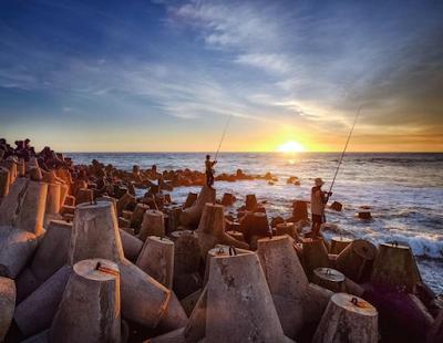 Sunset di Pantai Glagah Kulonprogo