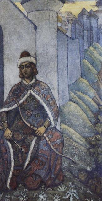 Николай Рерих - Витязь. 1910